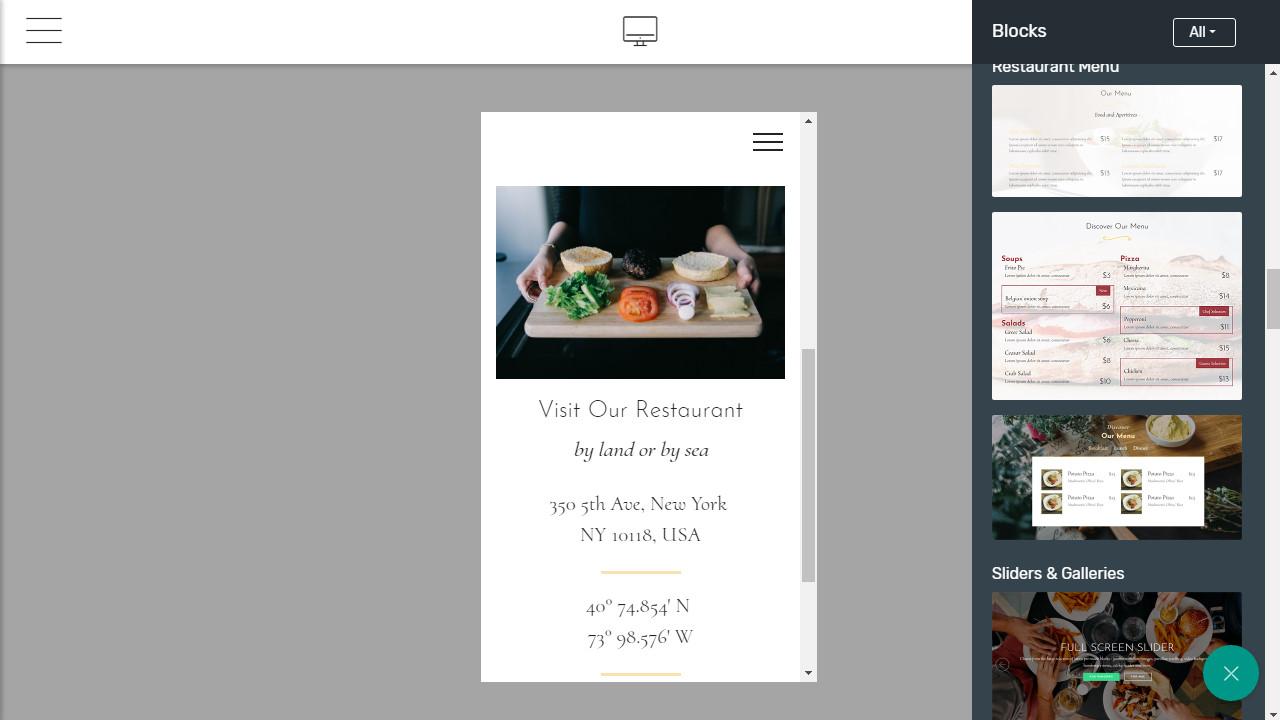 bootstrap navigation menu